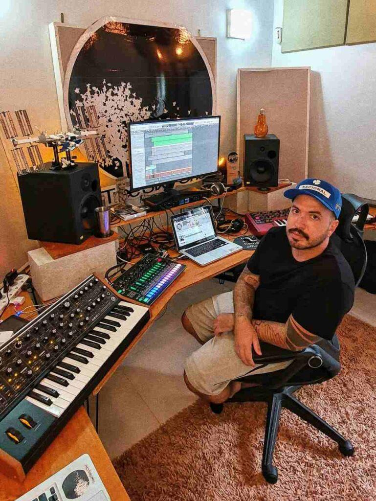 musica eletronica brasilia Gustavo Fk